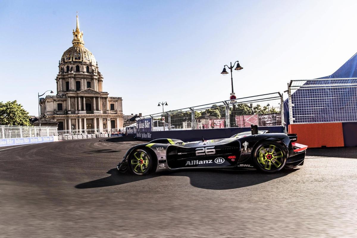Roborace has taken another step forwards with the Robocar's lap of Paris