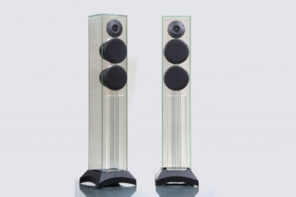 Victoria EVO glass loudspeakers