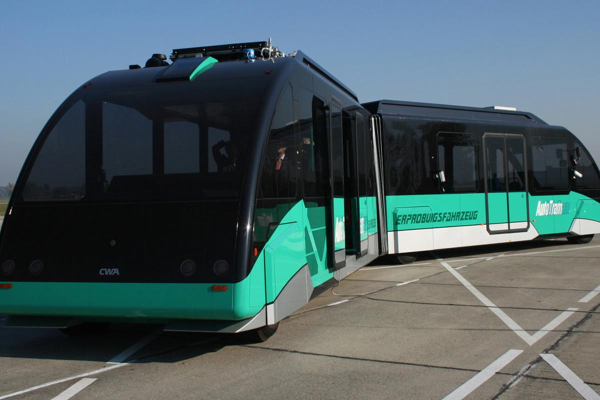 The AutoTram research platform for testing new components and systems for use in the electromobile vehicles of tomorrow (Image: Fraunhofer IVI)