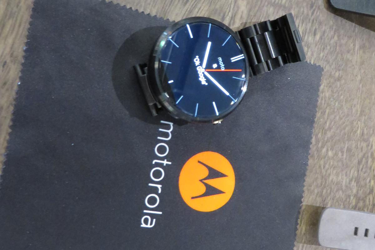The Moto 360 is available for $249