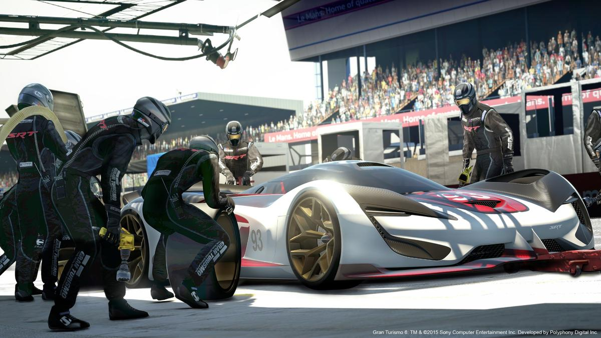 The SRT Tomahawk Vision Gran Turismo is the latest car designed for Gran Turismo 6