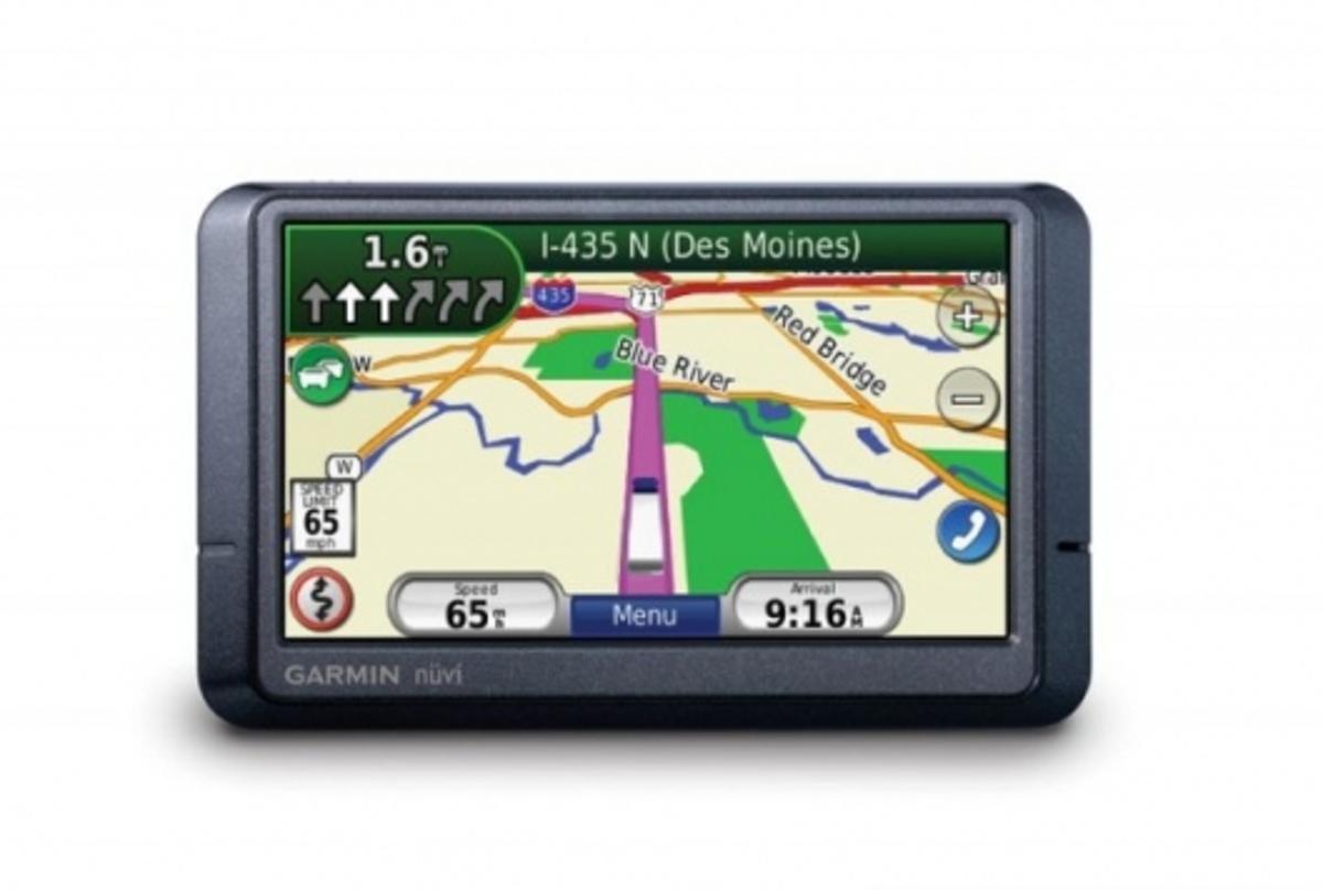 Garmin nüvi 465T truck GPS navigator