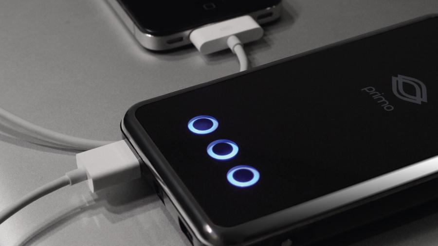Not much bigger than an iPhone, the Primo Power Core Battery Pack features powerful 8200mAh-rated Li-ion cells to provide portable charge or boost to just about any mobile device