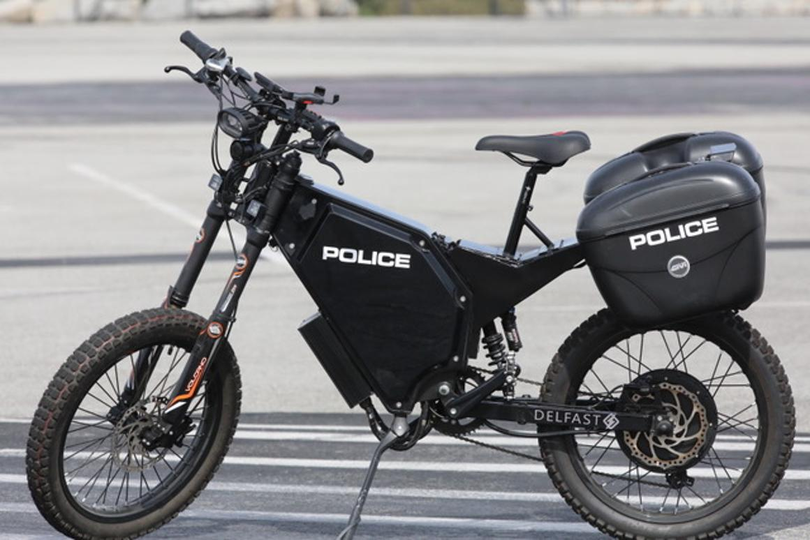 Delfast's special edition Top Cop e-bike