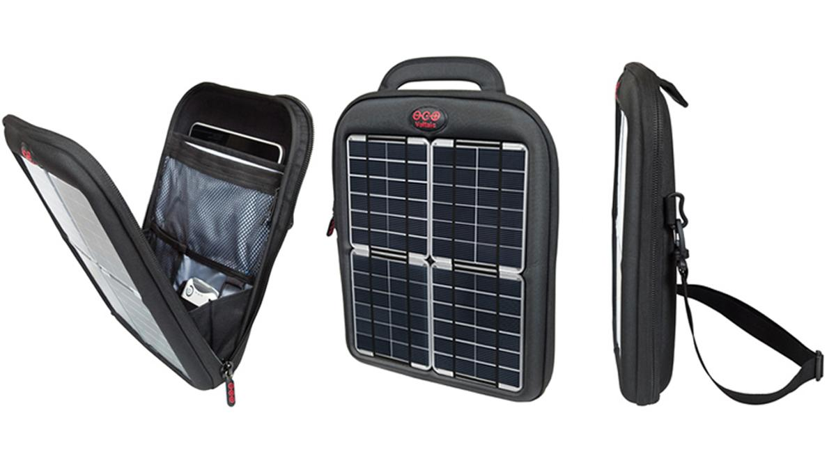 Voltaic's Spark Tablet Case harnesses the sun's energy to top up more power hungry mobile devices such as the iPad
