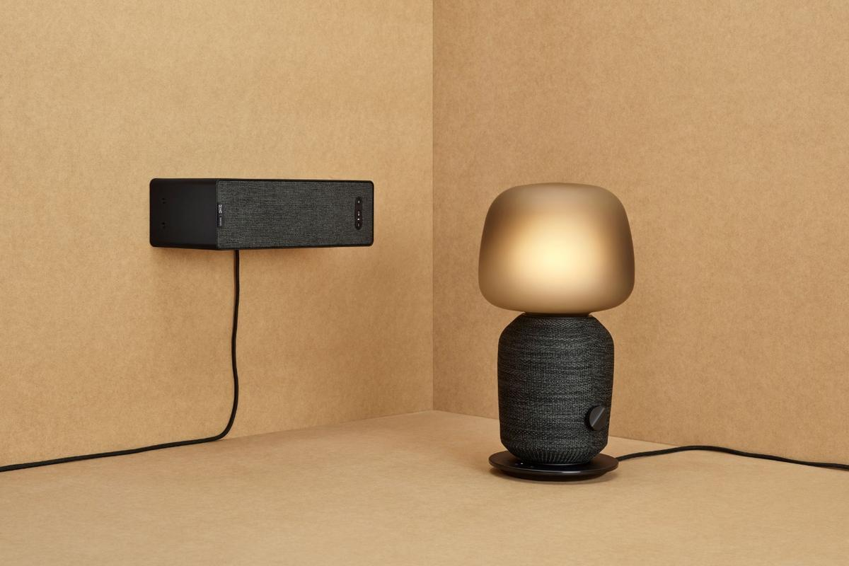 The Symfonisk range has debuted in Milan, and comprises a table lamp with built-in wireless speaker and a streaming bookshelf speaker