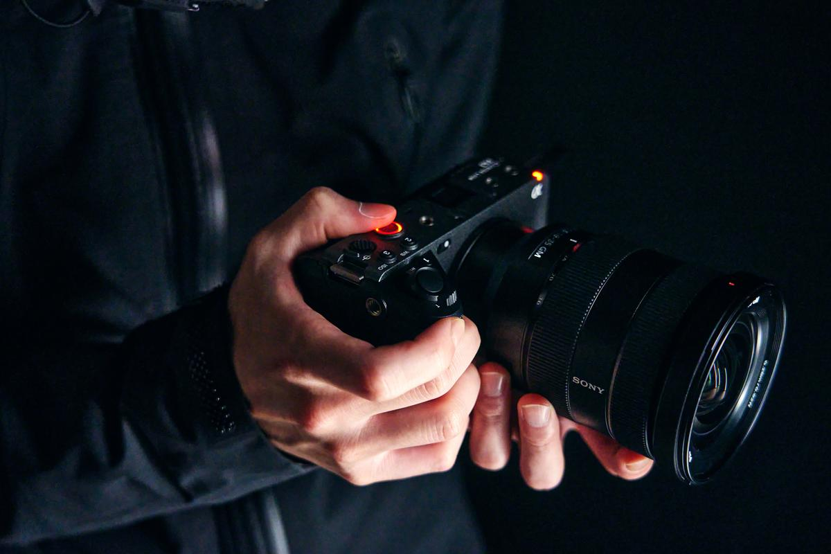 The FX3 Cinema Line camera is aimed at mobile content creators