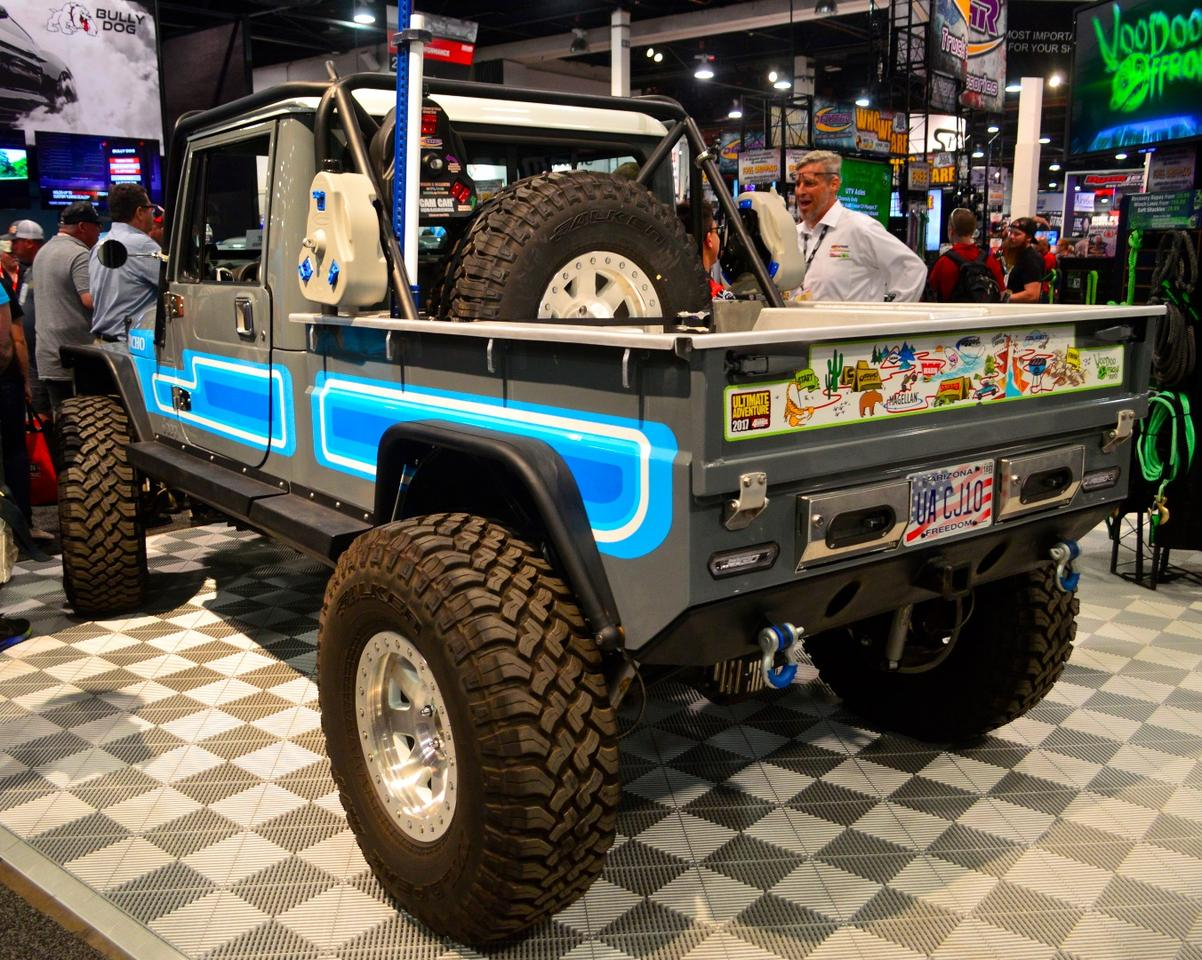 Jeep CJ10 Honcho build from Voodoo Offroad and Daystar Products International