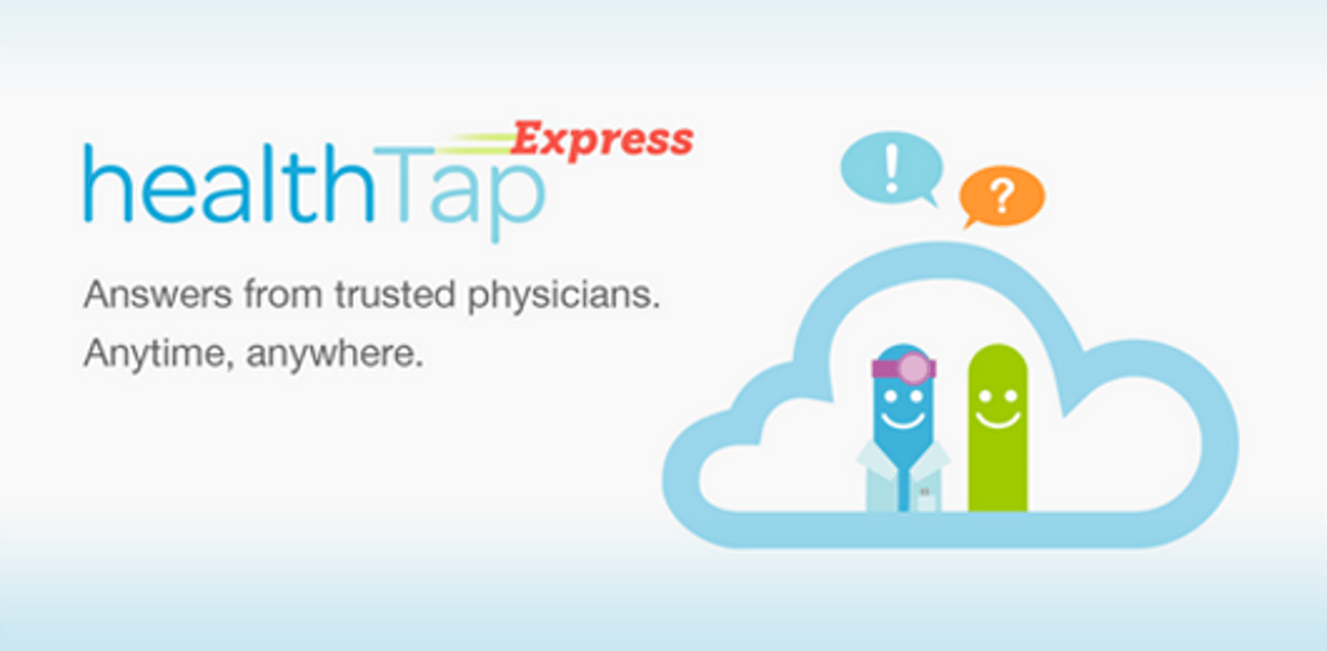 HealthTap gives patients direct health advice from legitimate medical professionals with incentives for physicians to participate