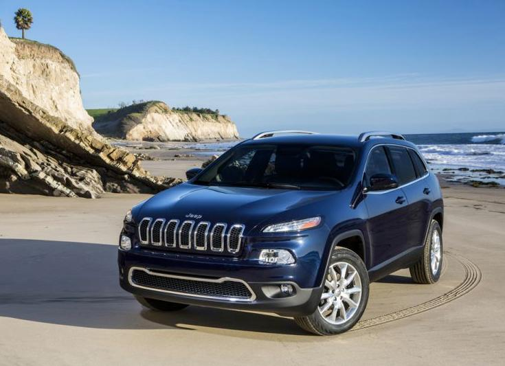 Jeep shows the 2014 Cherokee