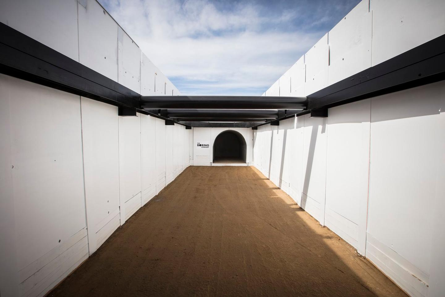 The Boring Company has already begun digging a test tunnel at its headquarters in LA