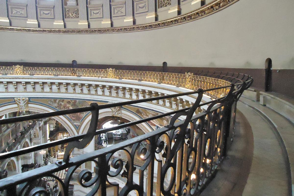 The Whispering Gallery in St. Paul's Cathedral (Image: Femtoquake /CC 3.0)