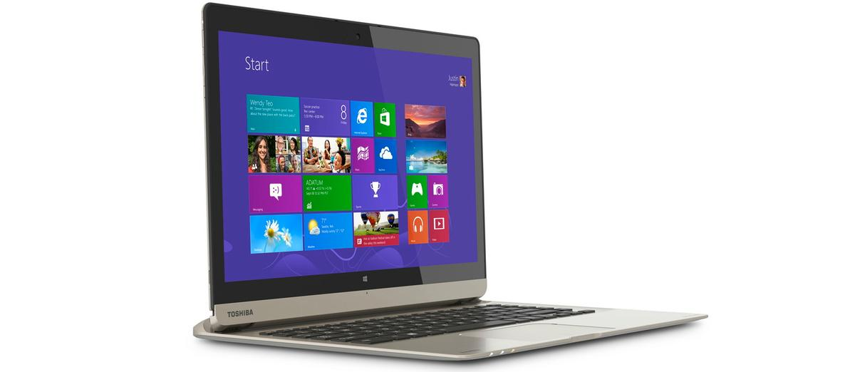 The Toshiba Satellite Click 2 Pro is a premium 2-in-1 laptop-cum-tablet
