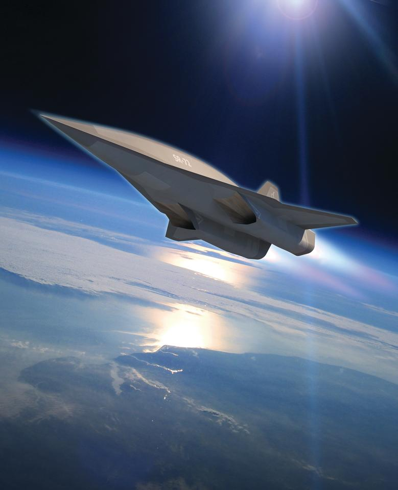 Artist's impression of the SR-72 (Image: Lockheed Martin)
