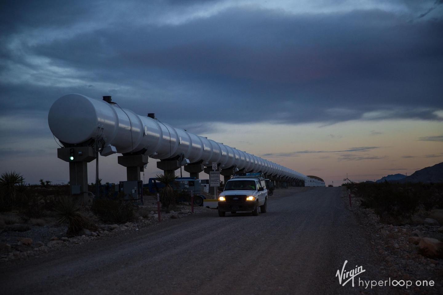 A fully developed Hyperloop would see passenger and cargo pods travel through near-vacuum tubes at around 700 mph (1,126 km/h)