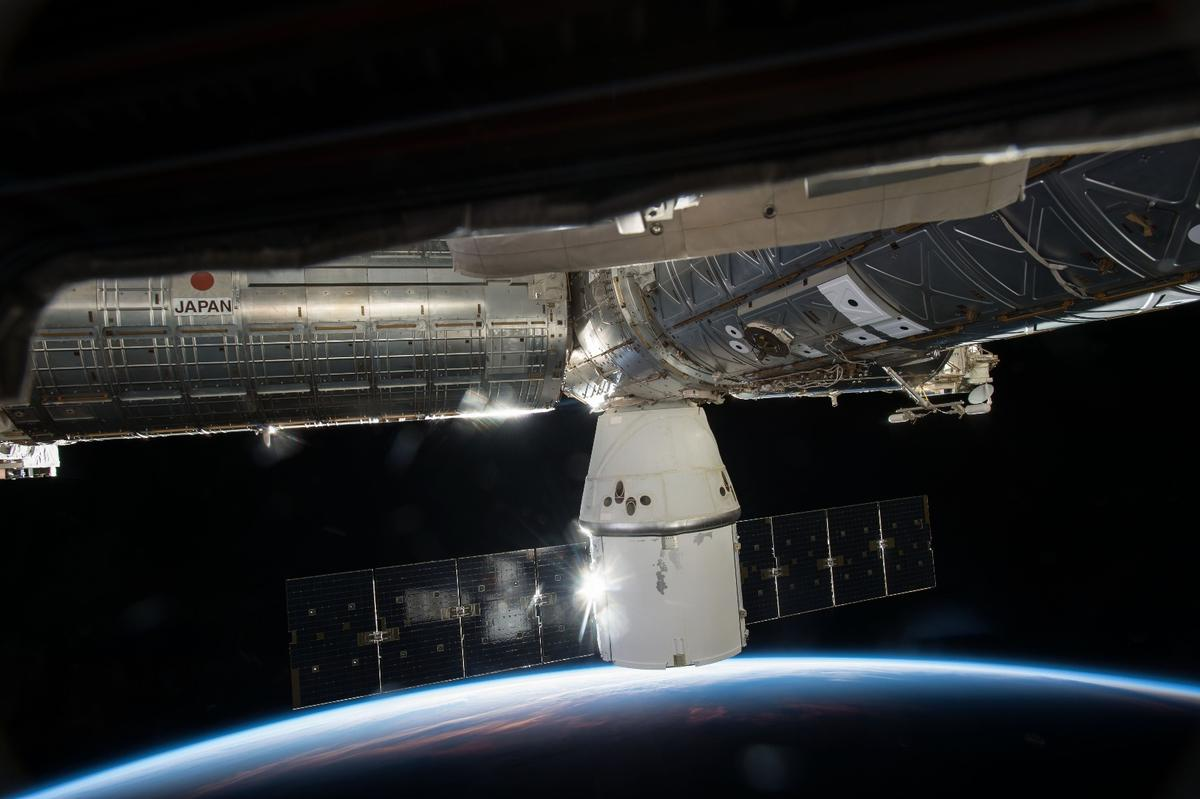 Dragon spacecraft has been shuttling cargo back and forth to the International Space Station (ISS) since 2012