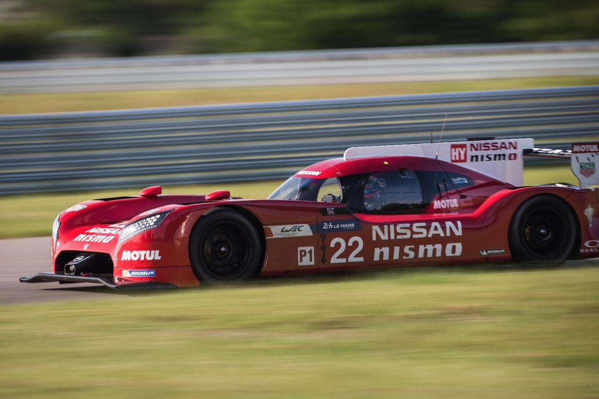 The LM Nismo's front drive setup is rare in a field of rear and all-wheel drive racers