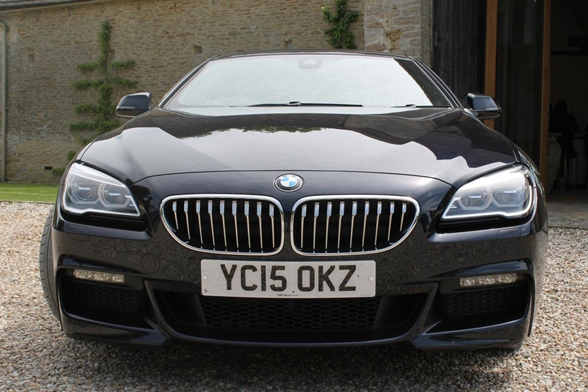 The BMW 6 Series is designed for use as a sporty tourer