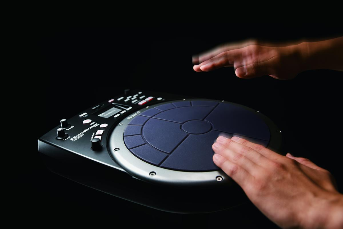 Roland's most versatile and powerful HandSonic digital hand percussion instrument to date, the HPD-20