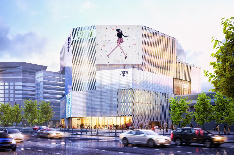 The pearl of Beijing: Chongwenmen M-cube has been under development since 2012