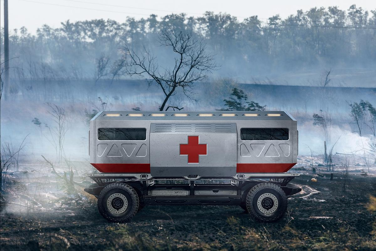 SURUS-based ambulance car