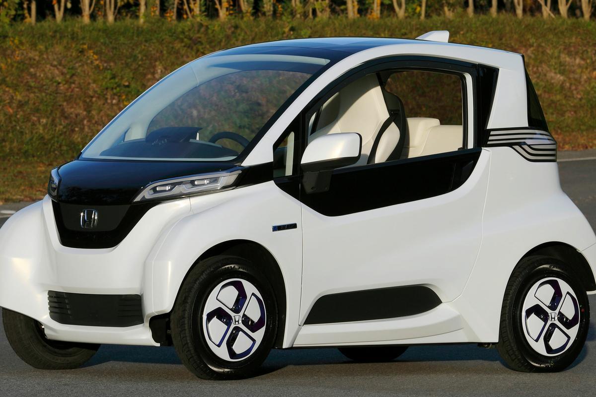 Honda's Micro Commuter Prototype β electric car