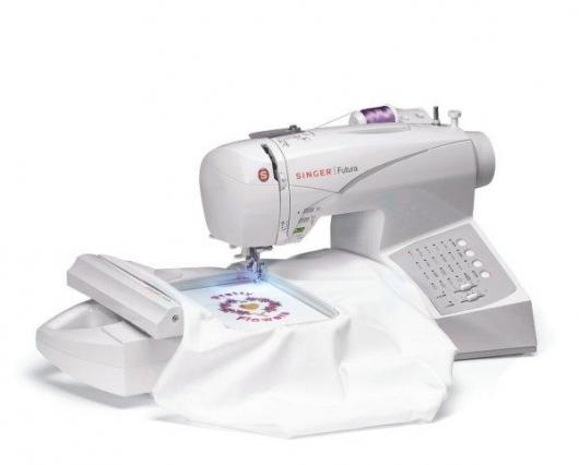 Singer's Futura CE150 sewing and embroidery machine