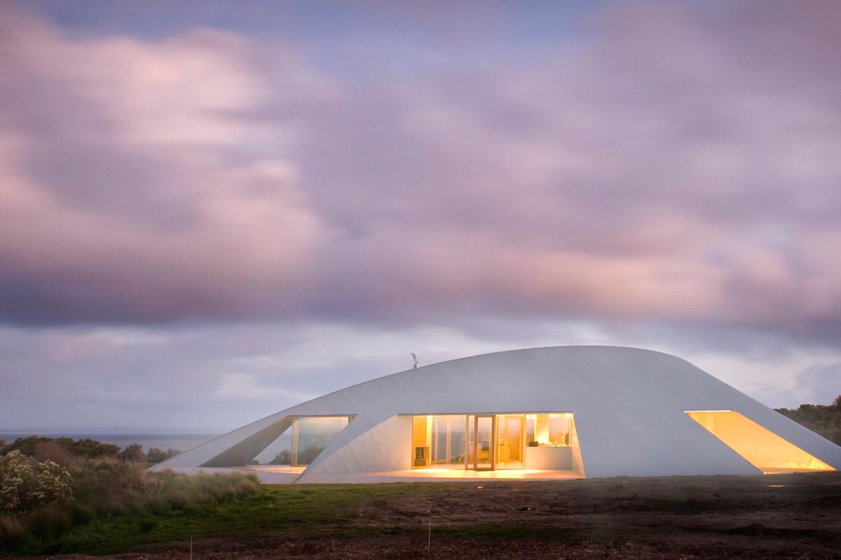 Crofthouse is located on the south coast of Victoria and offers its owners a simple and sustainable home