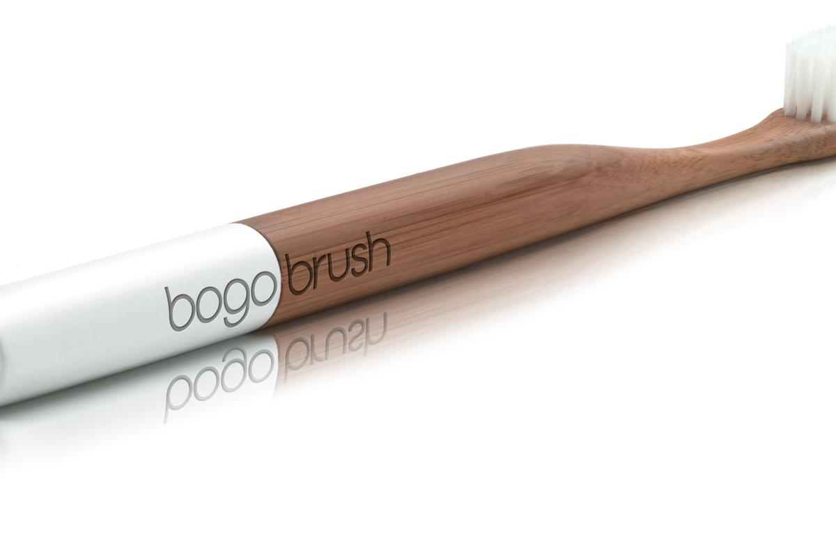 Bogobrush is a eco-toothbrush made from bamboo