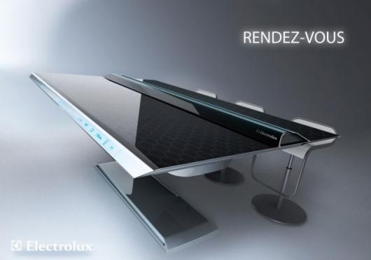 Electrolux Rendez-Vous concept interactive table