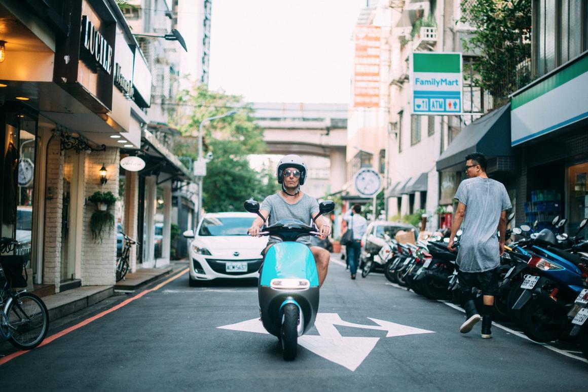 Gogoro's Smartscooter is on its way to Amsterdam