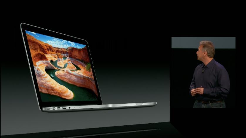 "Apple unveiled a smaller 13"" Retina MacBook Pro"