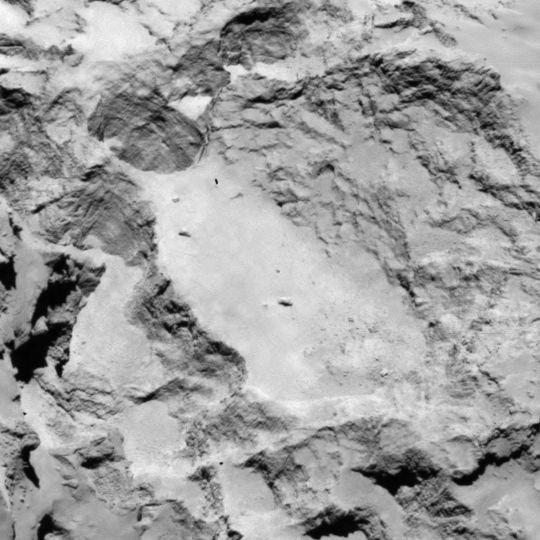 Landing Site A (Image: ESA)