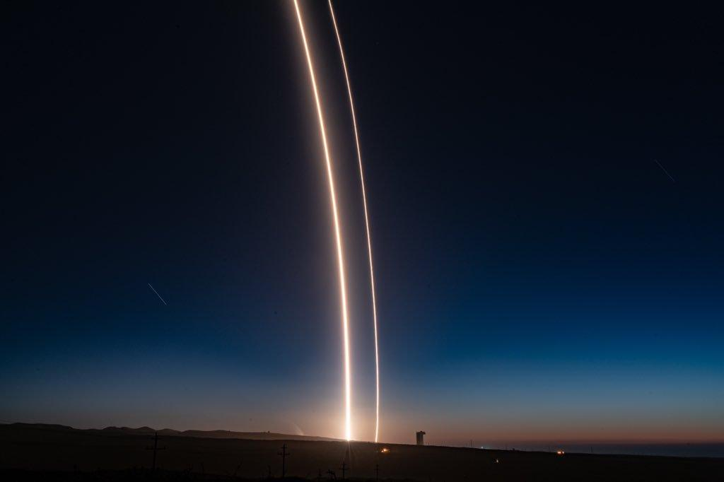 SpaceX's SAOCOM 1A mission today saw it land a booster on land in California for the first time