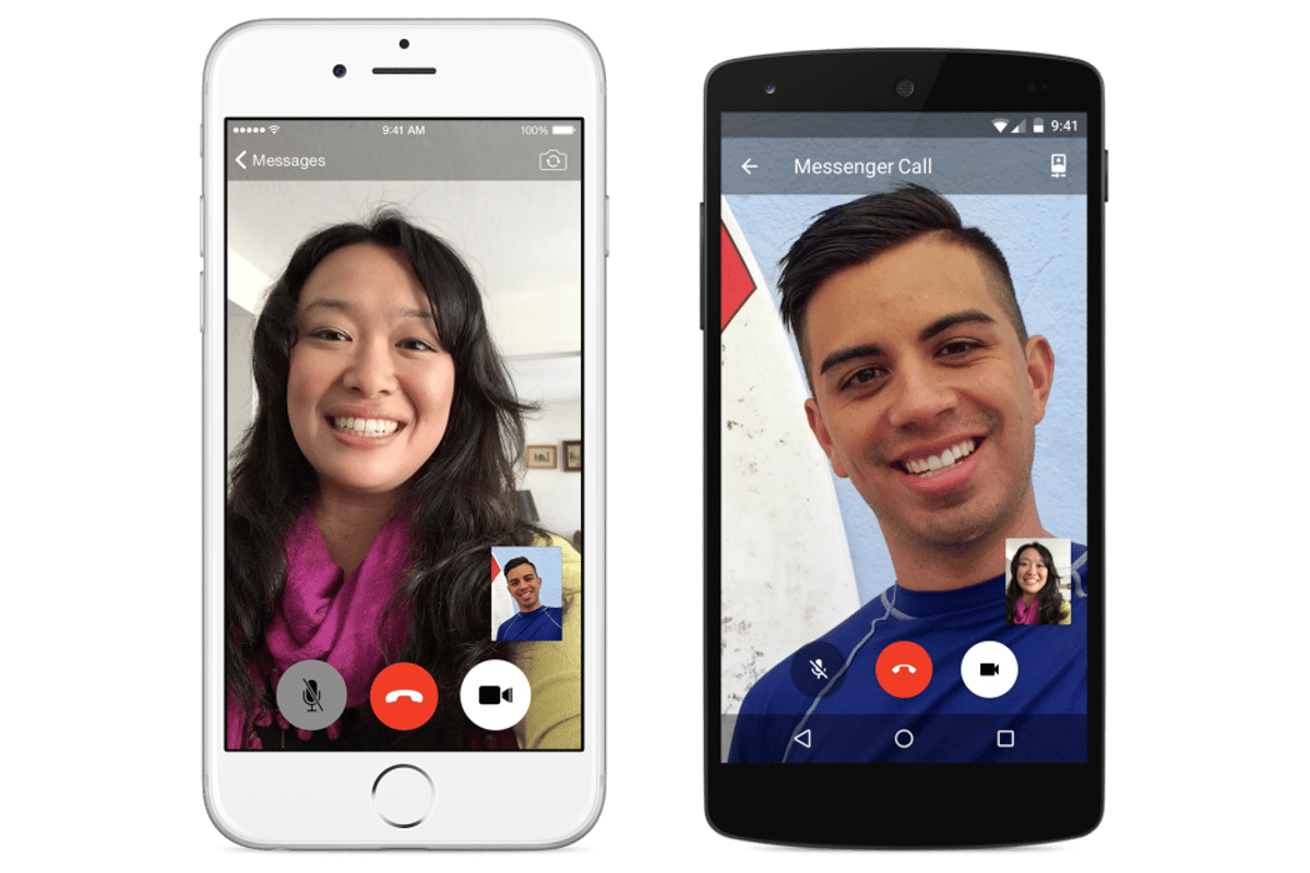 Facebook has announced free video calls for its Messenger mobile app