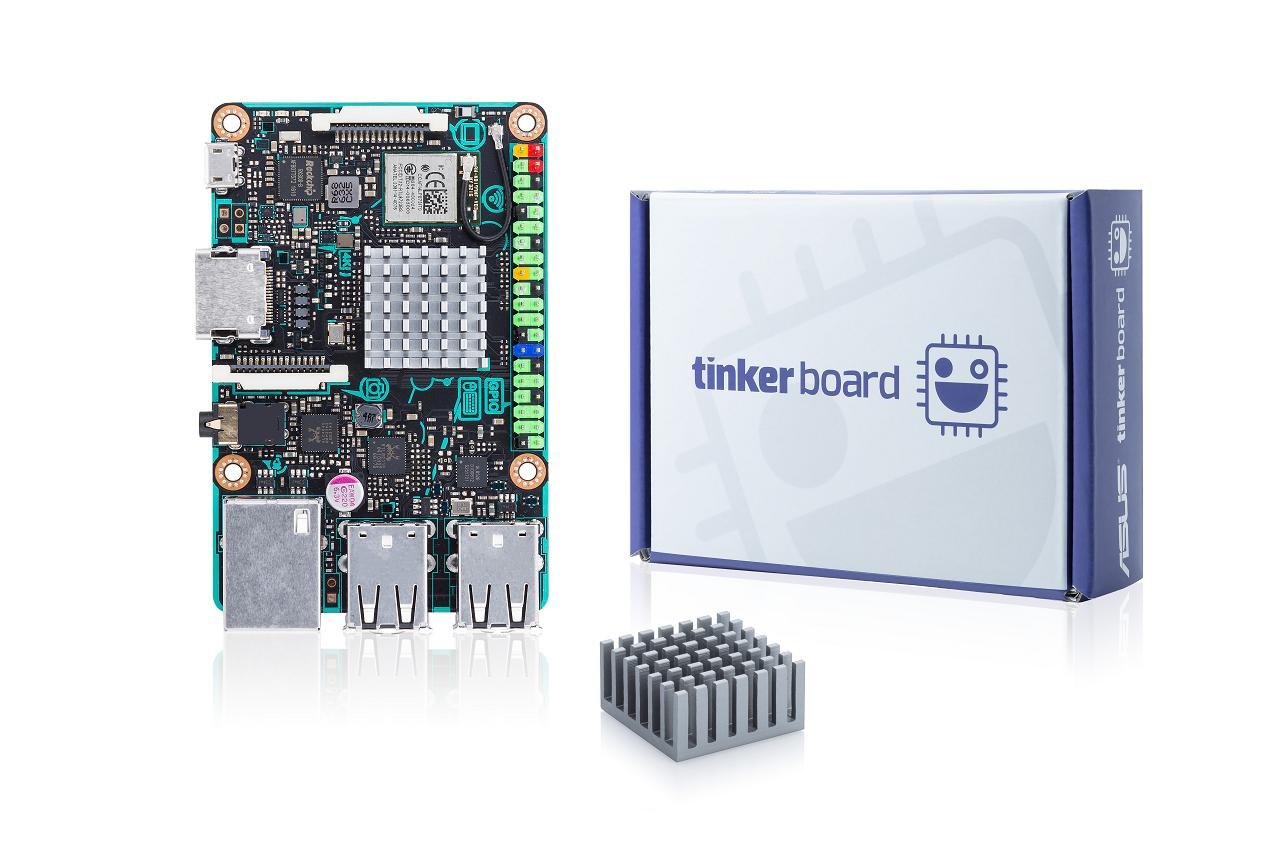 The Asus Tinker Board retails for $54.99