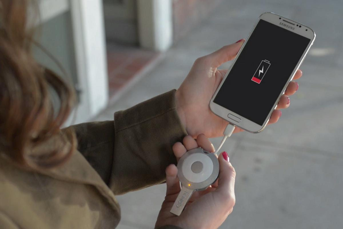 GOkey is a keyring, charger, cable, locator and memory stick all in one