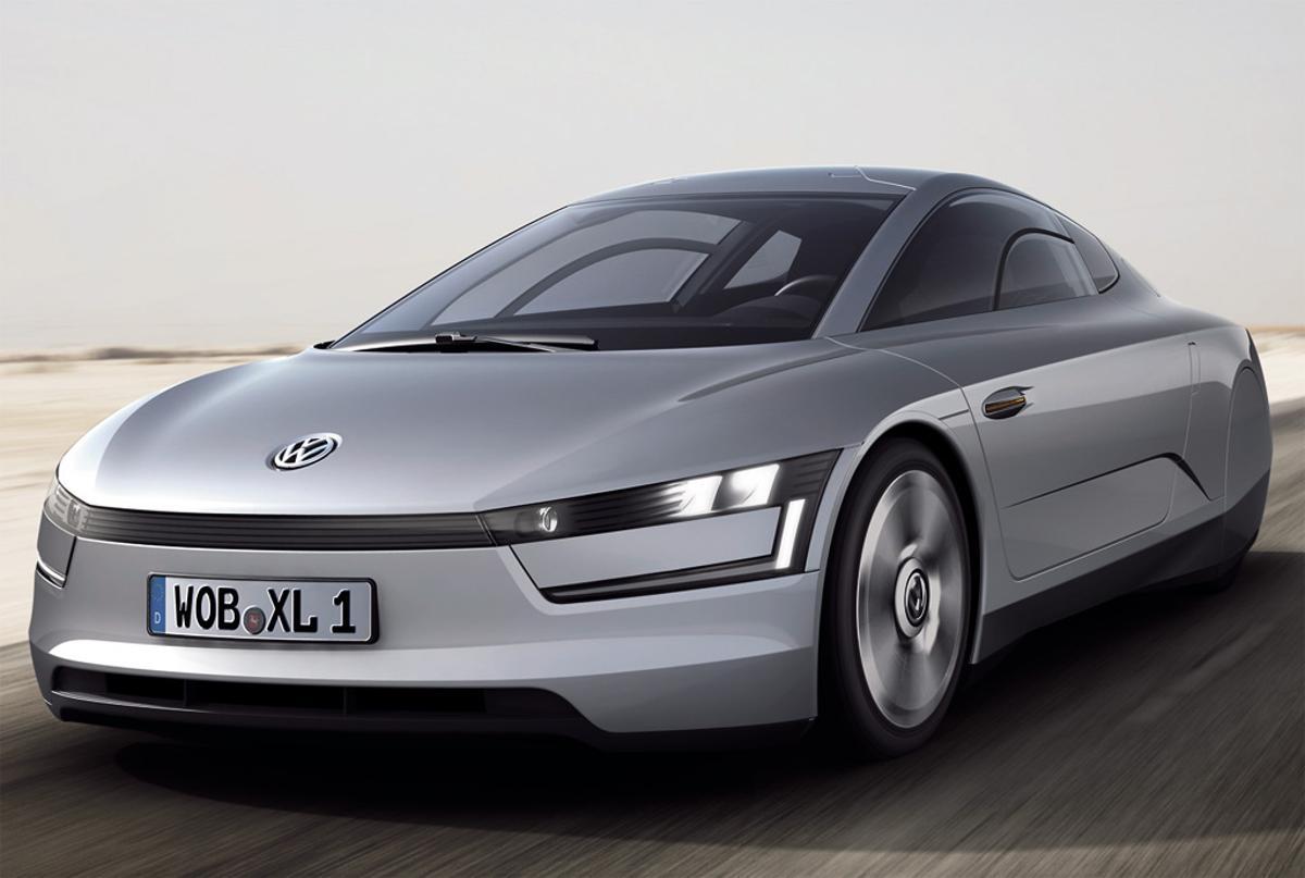 The Volkswagen XL1 protoype