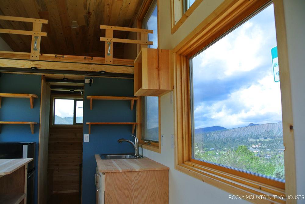 Colorado-based tiny home builder Rocky Mountain Tiny Houses has revealed its latest tiny house