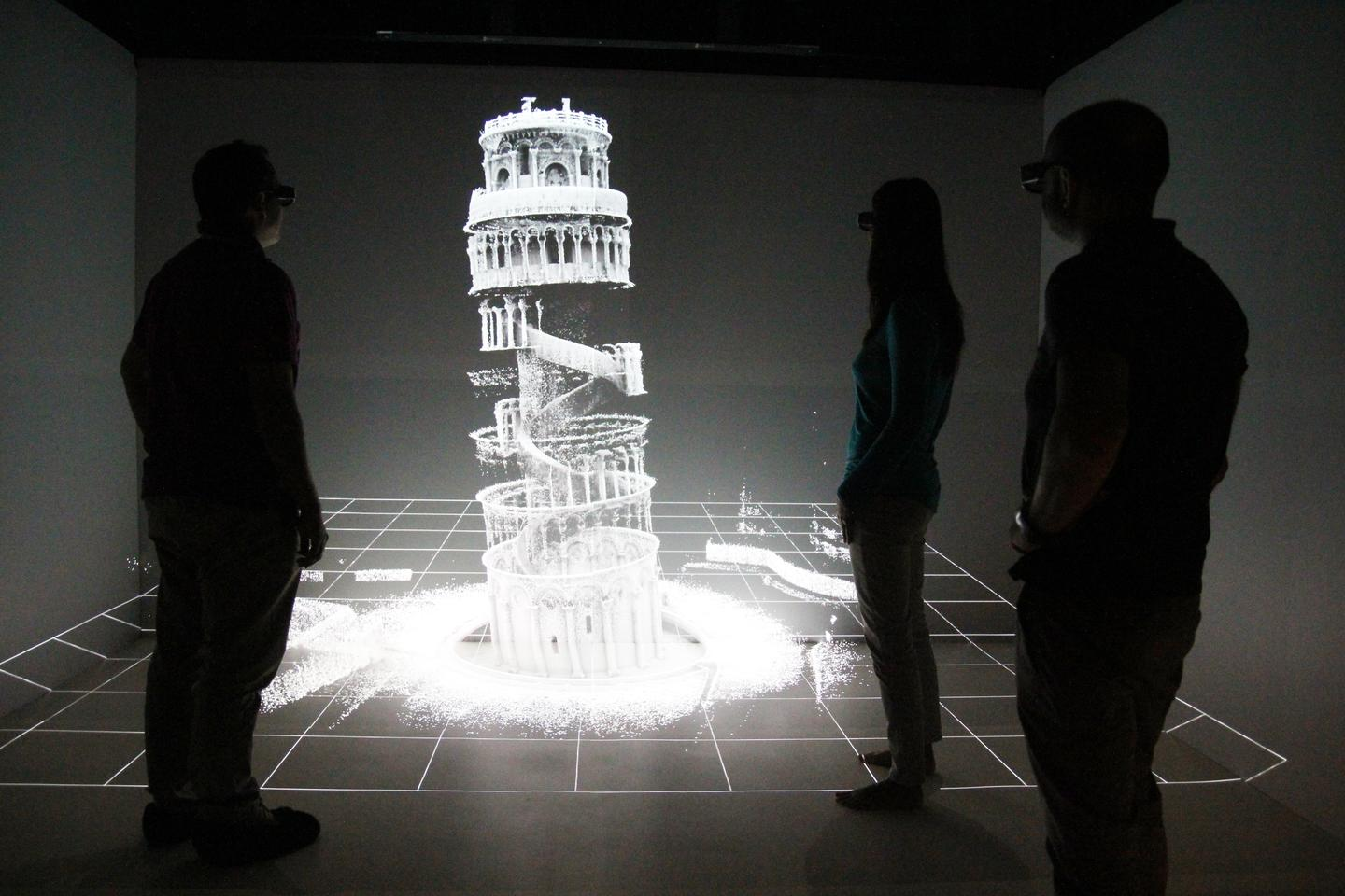The CSIRO's scan of the Leaning Tower of Pisa was completed in under 20 minutes
