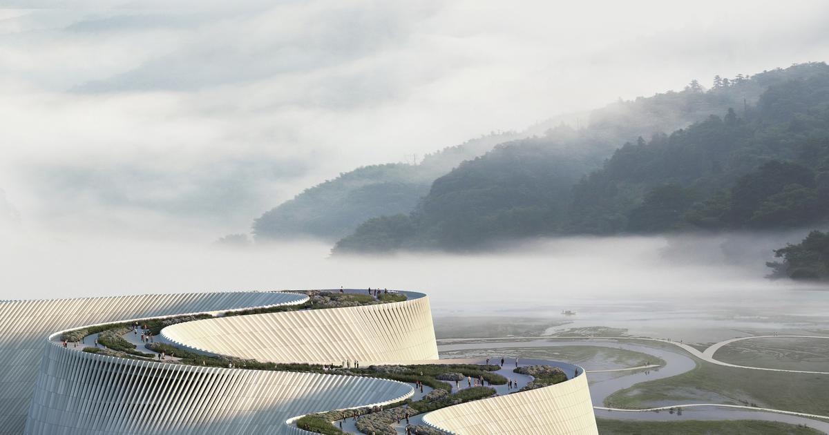 Delta Natural History Museum will flow like a river in Shenzhen