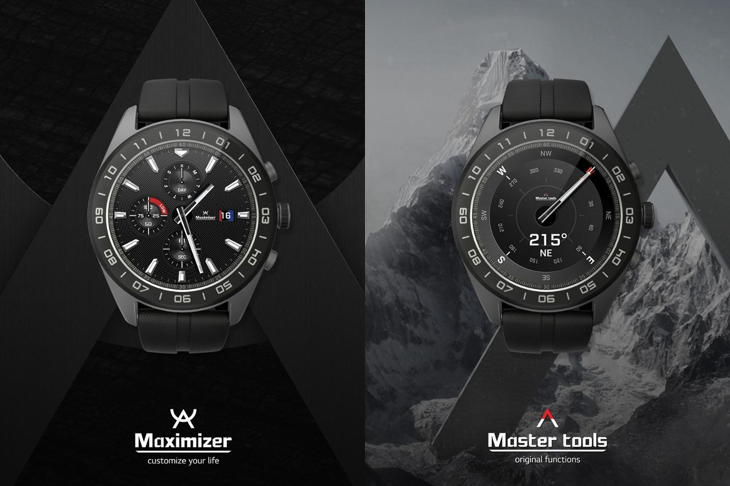 "LG has unveiled the ""hybrid"" Watch W7"