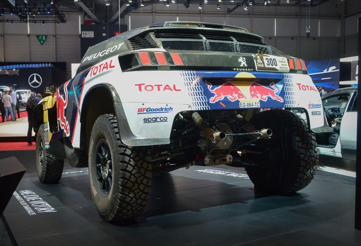 Peugeot shows the 3008 DKR after its Dakar victory