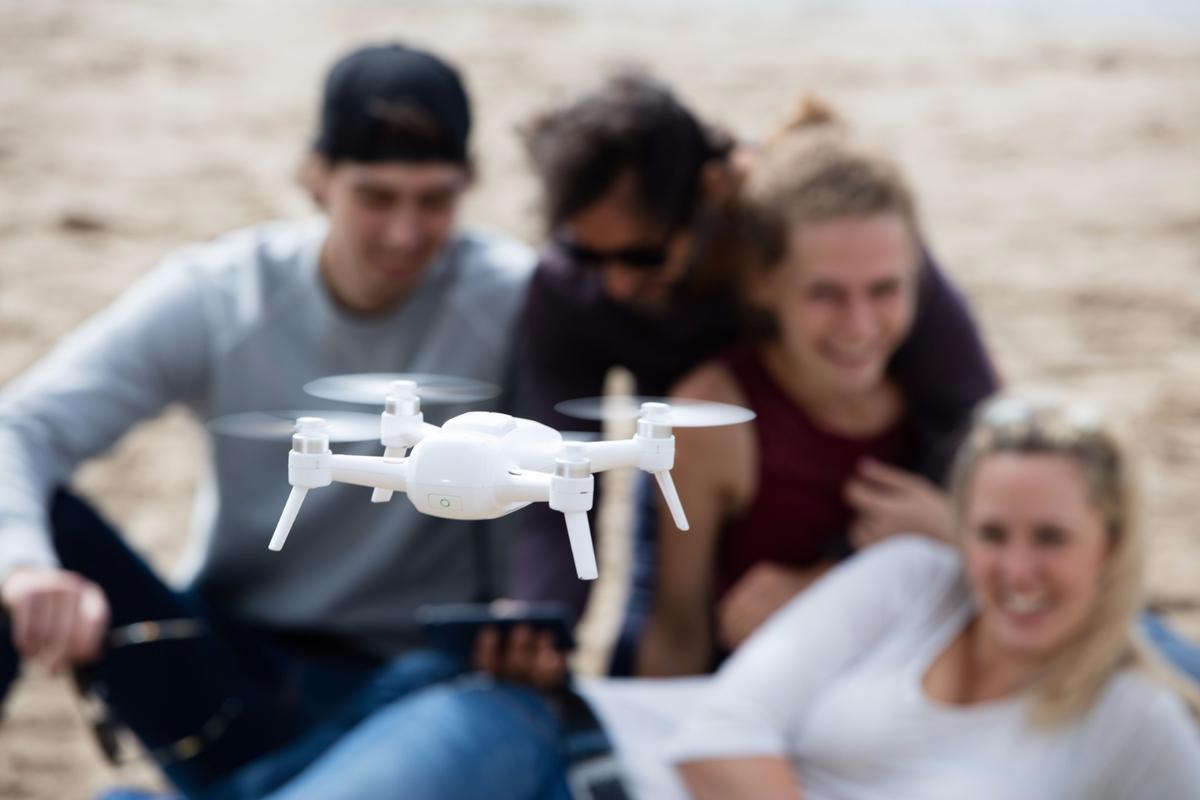 Yuneec has launched its new Breeze drone, with a focus on selfies