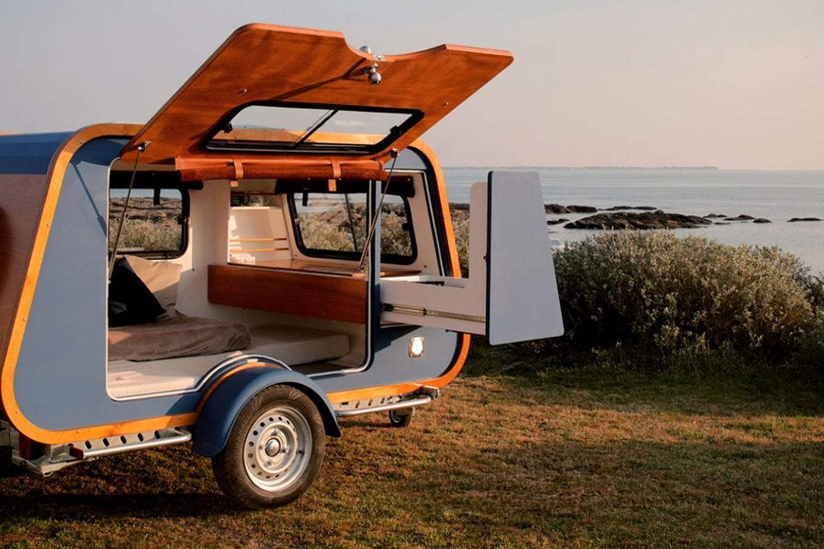 The Carapate mini-caravan