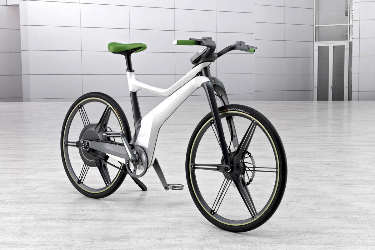 smart has announced a pedal-powered bicycle with electric assist named e-bike