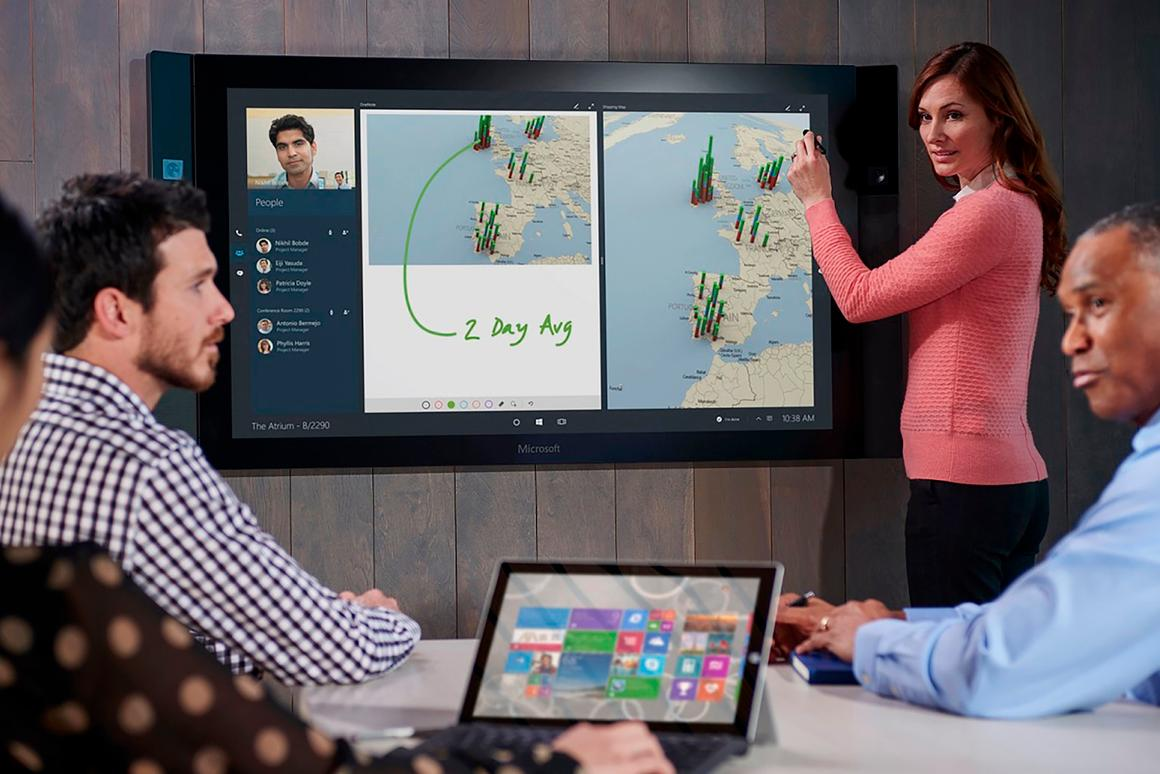 Businesses will be able to get their hands on the Surface Hub later this year
