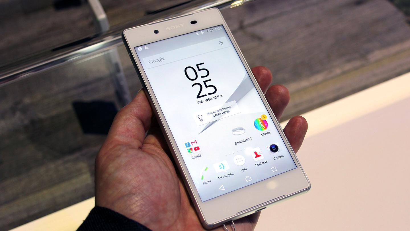 The new Xperia Z5 is available in three different flavors
