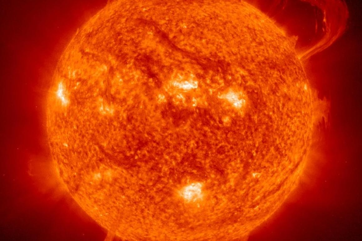 A new study from Lund University asserts that regional climate is influenced by the sun (Image: ESA/NASA/SOHO)