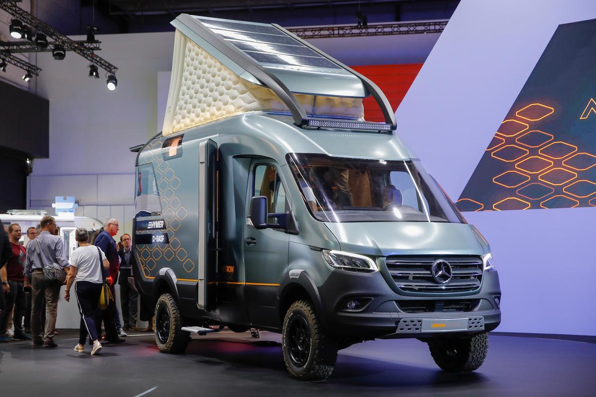 Hymer VisionVenture at the 2019 Düsseldorf Caravan Salon